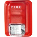 Strobe Light and Horn Fire Alarm