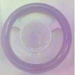 LED Steering Wheel Bulb Light Ring E27 24W (Assorted Colour)