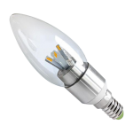 E14 3W LED Candle Bulb TEC - White / Warm White