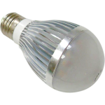 E27 5W LED Light Bulb - White / Warm White