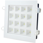 LED Downlight Square 16W - White / Warm White