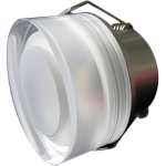 LED Downlight Crystal Round 1W - Red / Green / Blue / Purple / Warm White