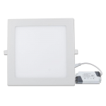 LED Downlight Square translucent 18W