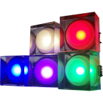 LED Downlight Crystal Square 1W - Red / Green /  Blue / Purple / Warm White