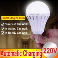 Smart Charge Intelligent Emergency Light Bulb 12w Rechargeable