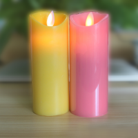 5 inch Wax Candle with Battery Operated