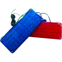 LED-18 Clear Red/Blue
