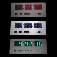3515A Clock (Red, Blue, Green)