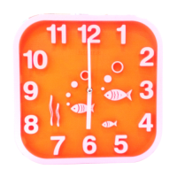 HCT Clock - Square - Fish