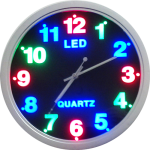 LED Quartz Clock 803A