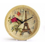 US001 Simple Wood Decor Alarm Clock