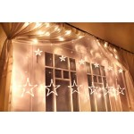 LED Icicle Star Decoration Light 3Meter 138LED