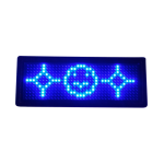 LED Name Tag Display (Blue)