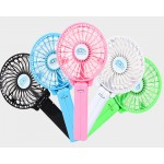 Mini Portable 2 In 1 Rechargeable Fan 868B