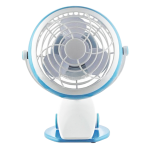 "4"" USB Mini Fan with Clip U406"