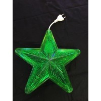 10 Inch Waterproof LED Star- Green