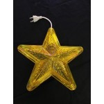10 Inch Waterproof LED Star -Yellow