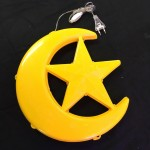 11 Inch Waterproof LED Moon & Star