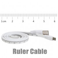 Charging & Data Sync USB Ruler Cable For Iphone & Android