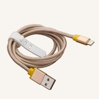 Braid String Data Cable With Lighting USB for Iphone/Android
