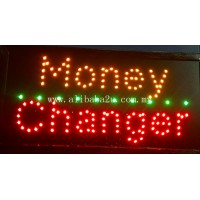 LED Sign Board - Money changer