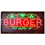 LED Sign Board - Burger