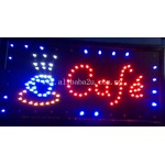 LED Sign Board- Cafe