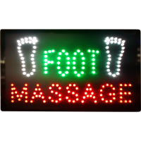 LED Sign Board - Foot Massage
