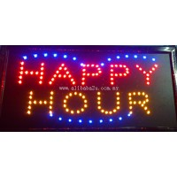 LED Sign Board - Happy Hour