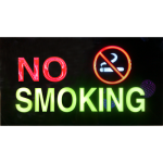 LK Sign Board - No Smoking