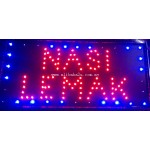 LED Sign Board - Nasi Lemak