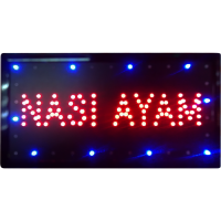 LED Sign Board - Nasi Ayam