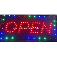 LED Sign Board - Open
