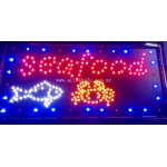 LED Sign Board - Seafood
