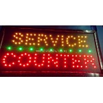 LED Sign Board - Service Counter