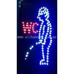 LED Sign Board - WC-Men
