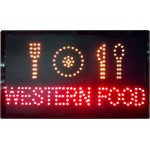 LED Sign Board - Western Food