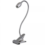 Metal Pipe LED Table Lamp with Clip P35-2L