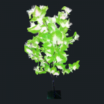 1.2 Meter Fiber Optic Leaf (Green)