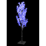 1.2Meter Fiber Optic Flower Tree(Blue)