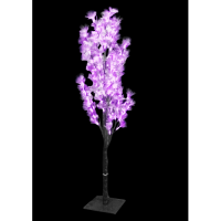 1.2Meter Fiber Optic Flower Tree(Purple)