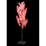 1.2Meter Fiber Optic Flower Tree(Red)