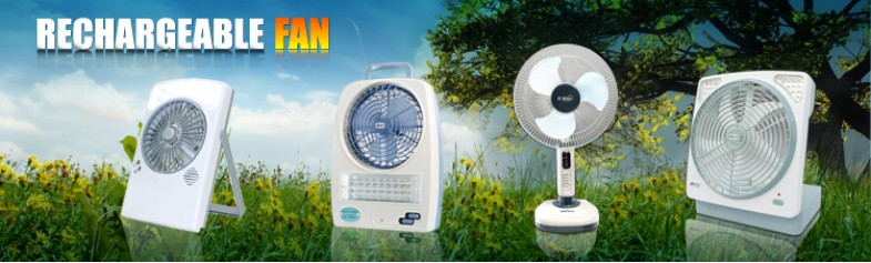 Rechargeable Fan Series